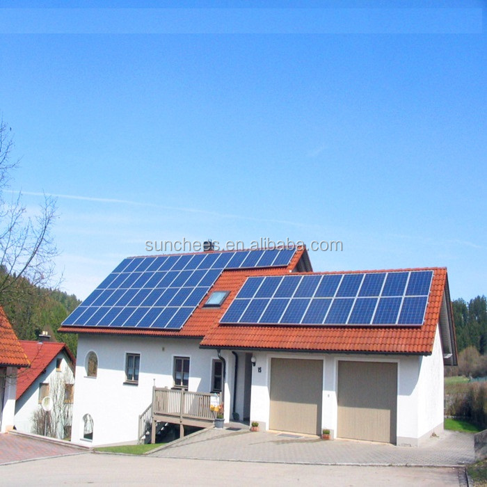 Complete solar energy electric solar power 5KW 8KW 10KW ; solar panel price home