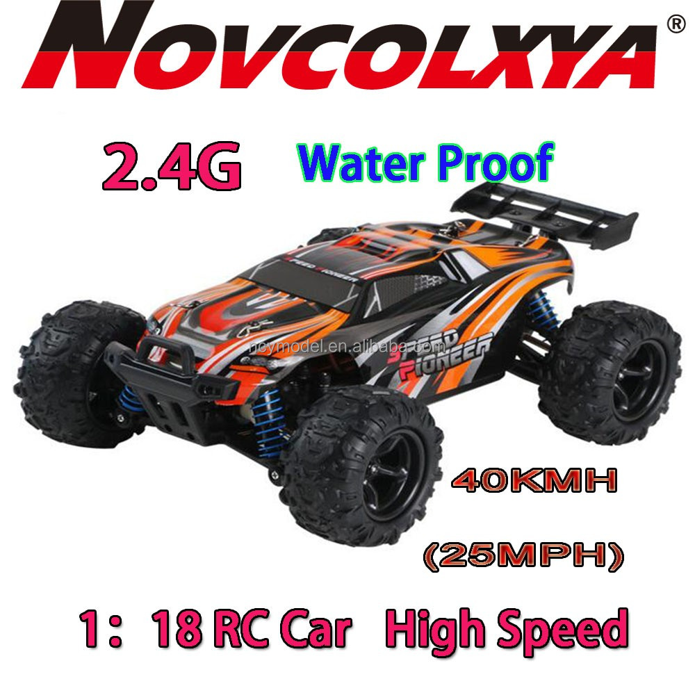 Waterproof Mini RC truck 1:18 Rc Car Buggy Off Road Four Wheels Suspension 2.4G 4x4 Fast Buggy Rc Car With Electric Motor