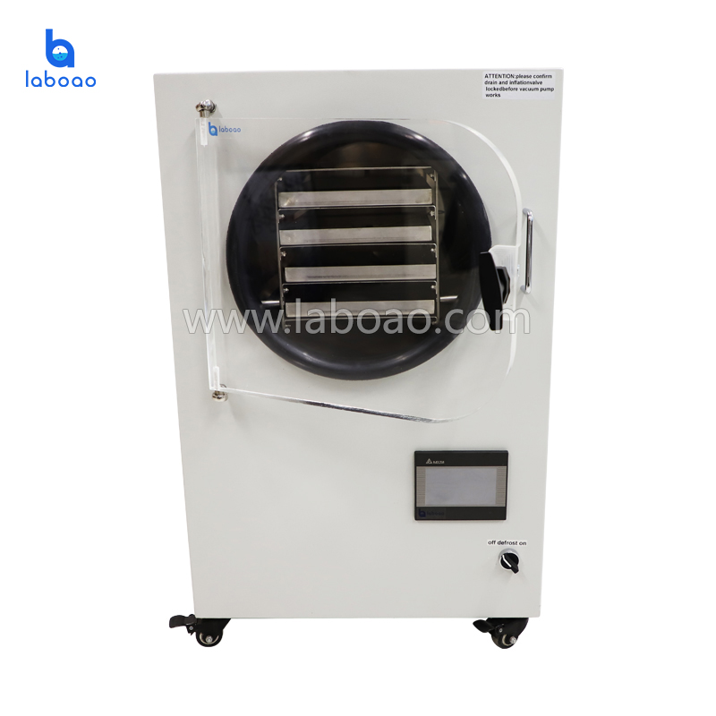 4-6kg small home used laboratory vacuum freeze dryer for food