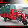 Best selling three wheel motorcycle with tarpaulin tent/motorized cargo adult tricycles