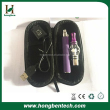 camo wax pen glass globe wax atomizer vaped kit with charger and ego case