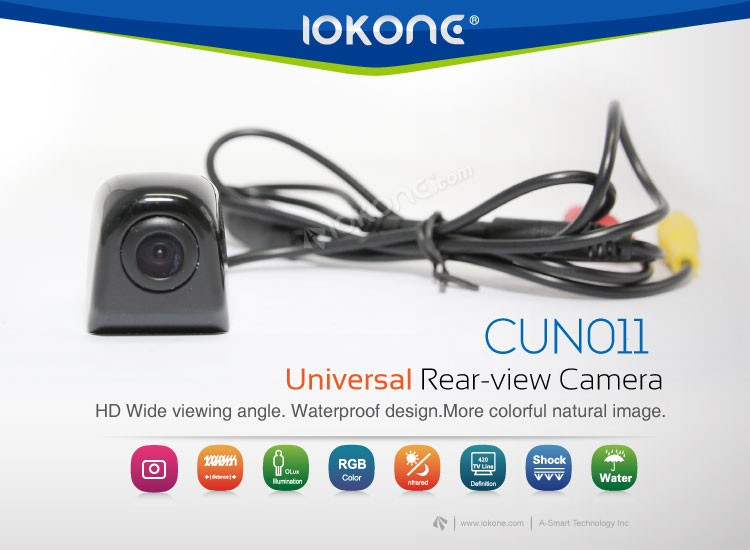 IOKONE High Quality Wireless Hang Up Car Rear View Camera