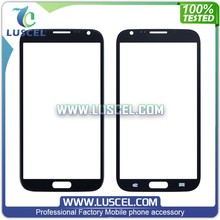 LC Low Price front glass for Samsung Galaxy note 2/N7100 touch screen