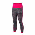 Ladies seamless sport yoga fitness gym capri pant