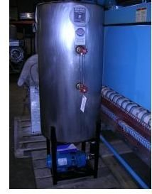 used laundry equipment: Rema Stainless Return System