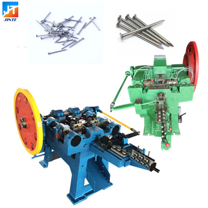 New Design High Speed Low Noise Wire Automatic Industrial Wire Nail Making Machine