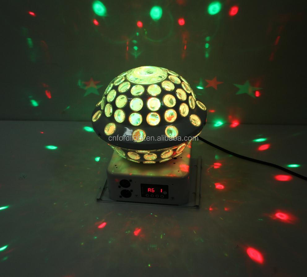 LED Laser UFO Crystal Magic Ball Up and Down Disco Light