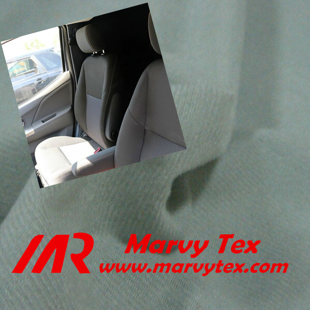 best selling hot chinese products of polyester warp knitted tricot brushed fabric for car