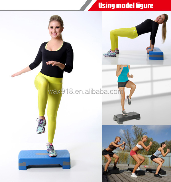 Cheap Fitness Plastic Aerobic Step