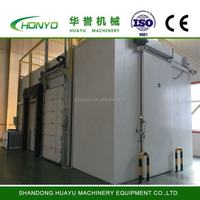 Industrial blast freezer meat storage cold room for sale