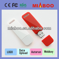 OEM Newest type plastic usb & promotional usb flash drive with free logo,shenzhen factory price with high quality