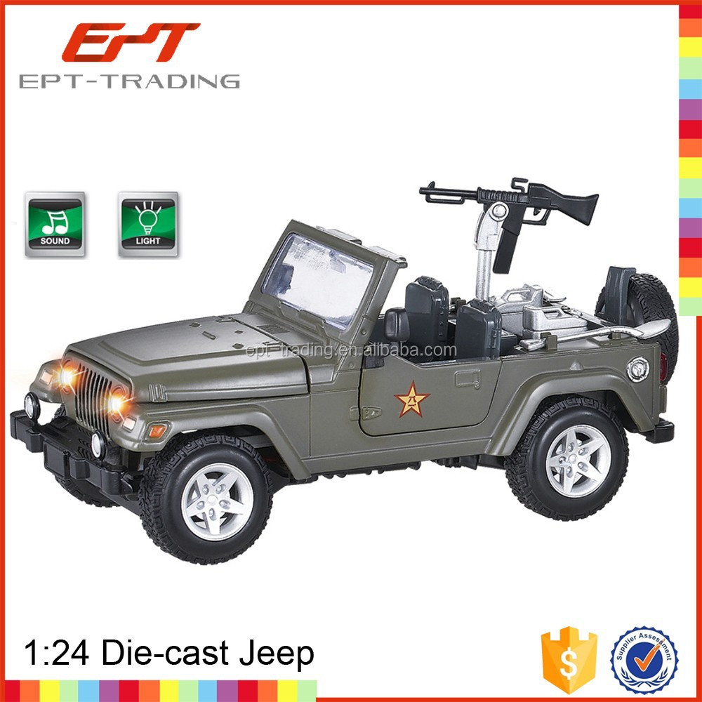 Wholesale mini military jeep toy car for sale