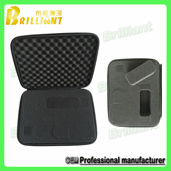 Custom Professionzl Zipper Soft Foam Insert EVA Tool Case