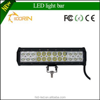 spare parts off road led light bar 72w