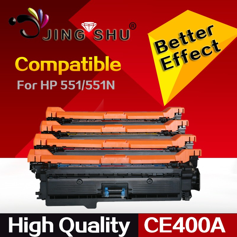 toner cartridge CE400A CE401A CE402A CE403A compatible for HP 551/551N