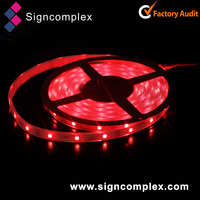 UV resistant ip64 5050 addressable rgb led strip with warranty 3 years