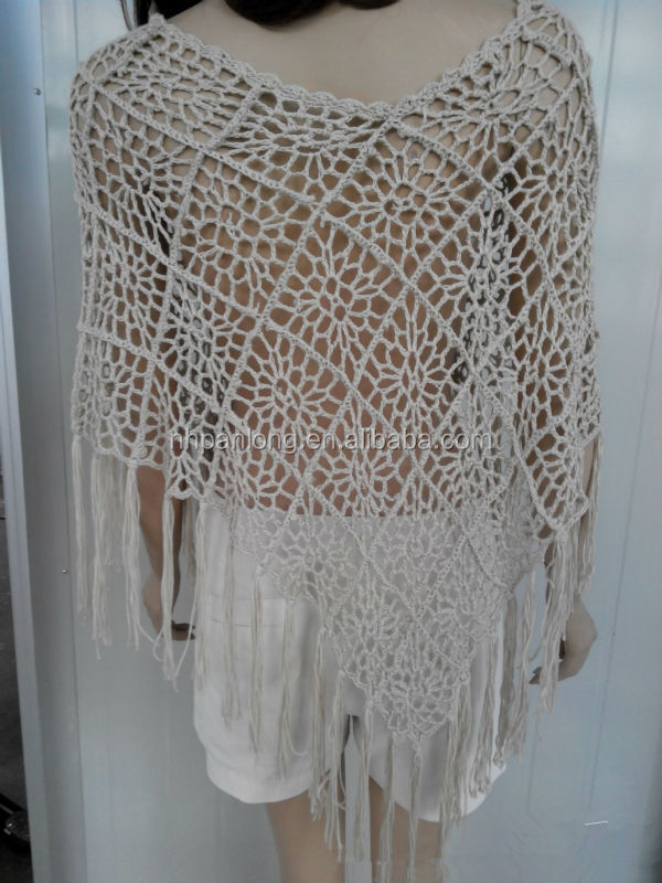 Macrame sweater for woman /tassel sweater /bikini garment