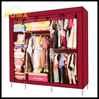 high quality Advertising wardrobe with tv cabinet