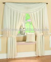 Embroidery lace Curtain