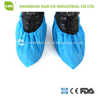 Disposable Pp/ Cpe/pp+pe/pe Plastic Shoe Cover / Foots Wear
