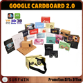 "CUSTOM assembled cardboard VR google cardboard 2.0 virtual reality glasses for 3.5-6"" smartphone"