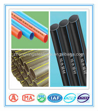 black plastic hdpe pipe for water supply pipes