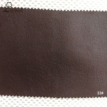 China new design synthetic embossed leather fabric