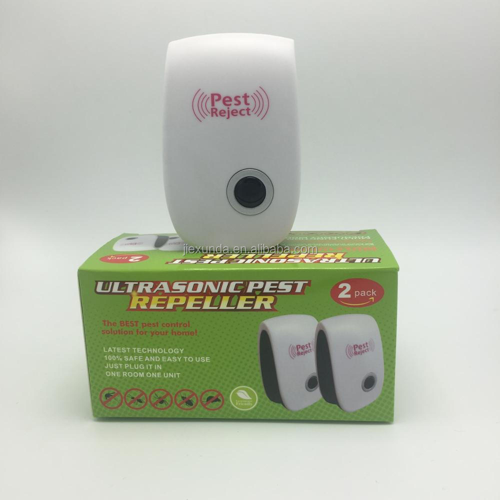 Ultrasonic Pest Repeller Best Indoor Pest Control Electronic US UK EU Plug In for Amazon sellers