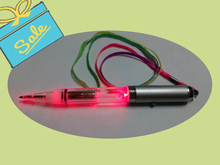 hot selling led flashlight pen writing in the dark for romantic