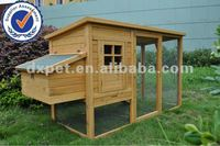 Deluxe Large Chicken House Wooden Coop Rabbit Ferret Pet Hutch Cage Hen Chook DXH011