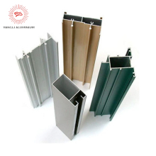 Aluminum extruded profile for structure