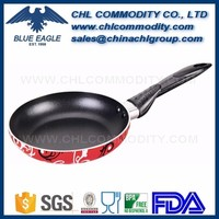 8 inch aluminium egg frying pan with long handle