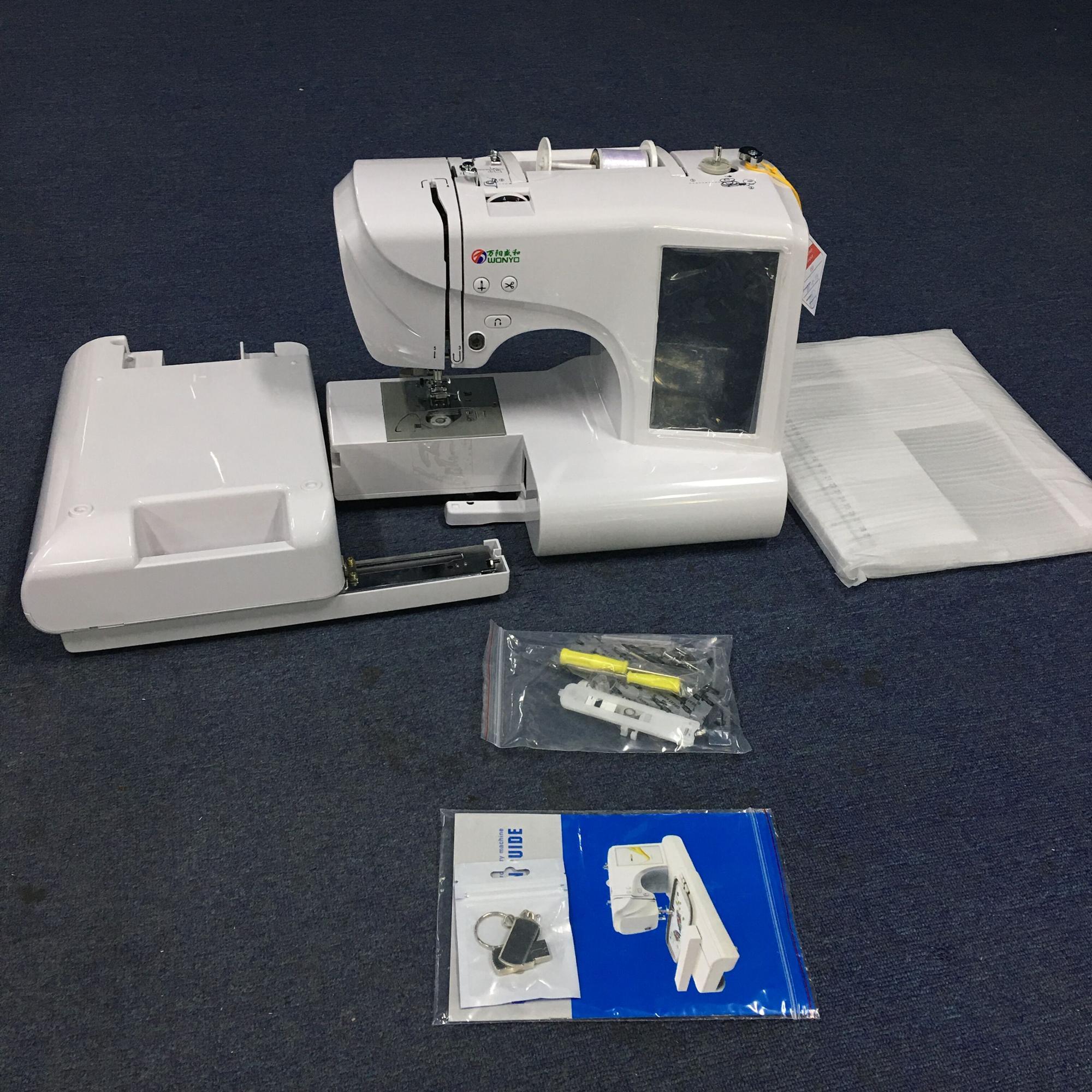 Household Embroidery And Sewing Machine Bordado Computerized Ghana