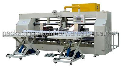 Double Pieces automatic carton box stitching machine/corrugated cardboard stapler
