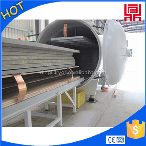 high speed dry wood board vacuum drying machine in russian