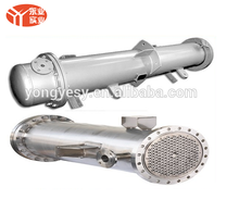 ASME pressure vessel shell and tube steam heat exchanger