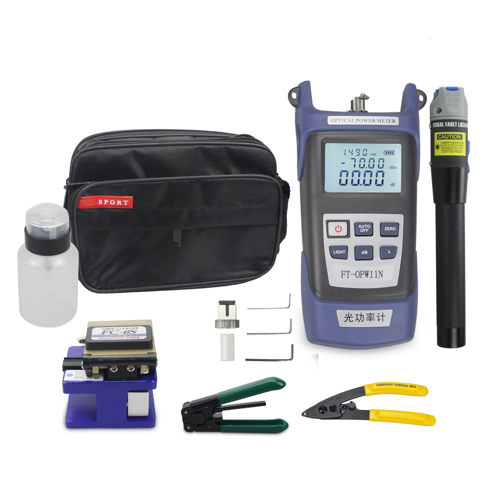 Fiber Optic cable tool kit Optical Power Meter fiber optic equipment for FTTH FTTB FTTX <strong>Network</strong>