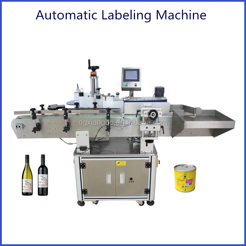 High Accuracy Automatic Round Pet Bottle Labeling Machine