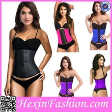 Black, blue, purple, pink and white sex xxl latex corset