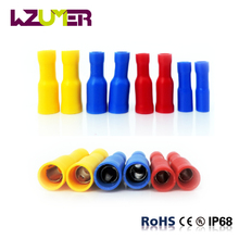 WZUMER Bullet Shaped Female Full-Insulating joint Stainless FRD Series terminal Cable Lug for electrical cables