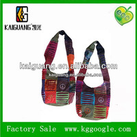 2014 wholesale cheap nepal cotton bags