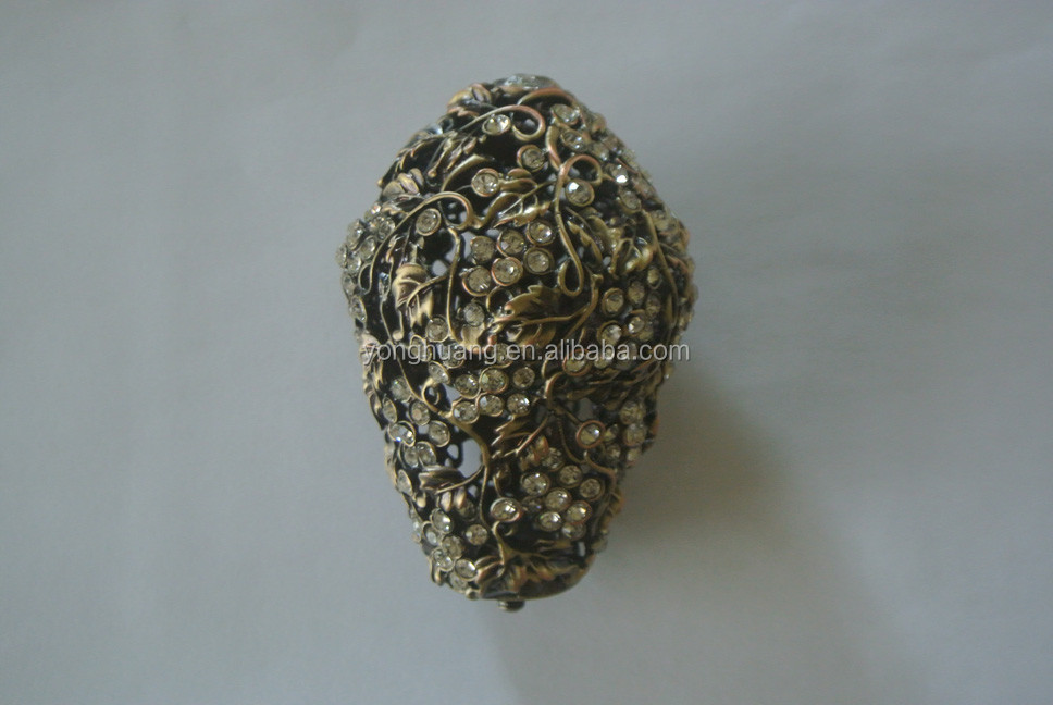 classical Popular Size high quality Decorative head for roma curtain pole