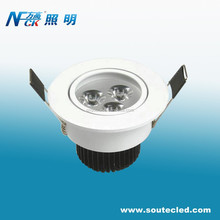 Hot sale Sunflower Radiator 3W Ceiling LED Lamp Surface mount led downlight with high power led