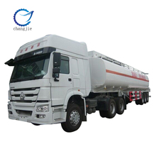 2015 New Factory sale high quality 45-48m3 capacity BPW 3 axle fuel tank trailer truck for sale