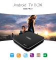 New cheapest android 7.1 kodi tv box S905X 2gb 16gb android tv box m8s pro +