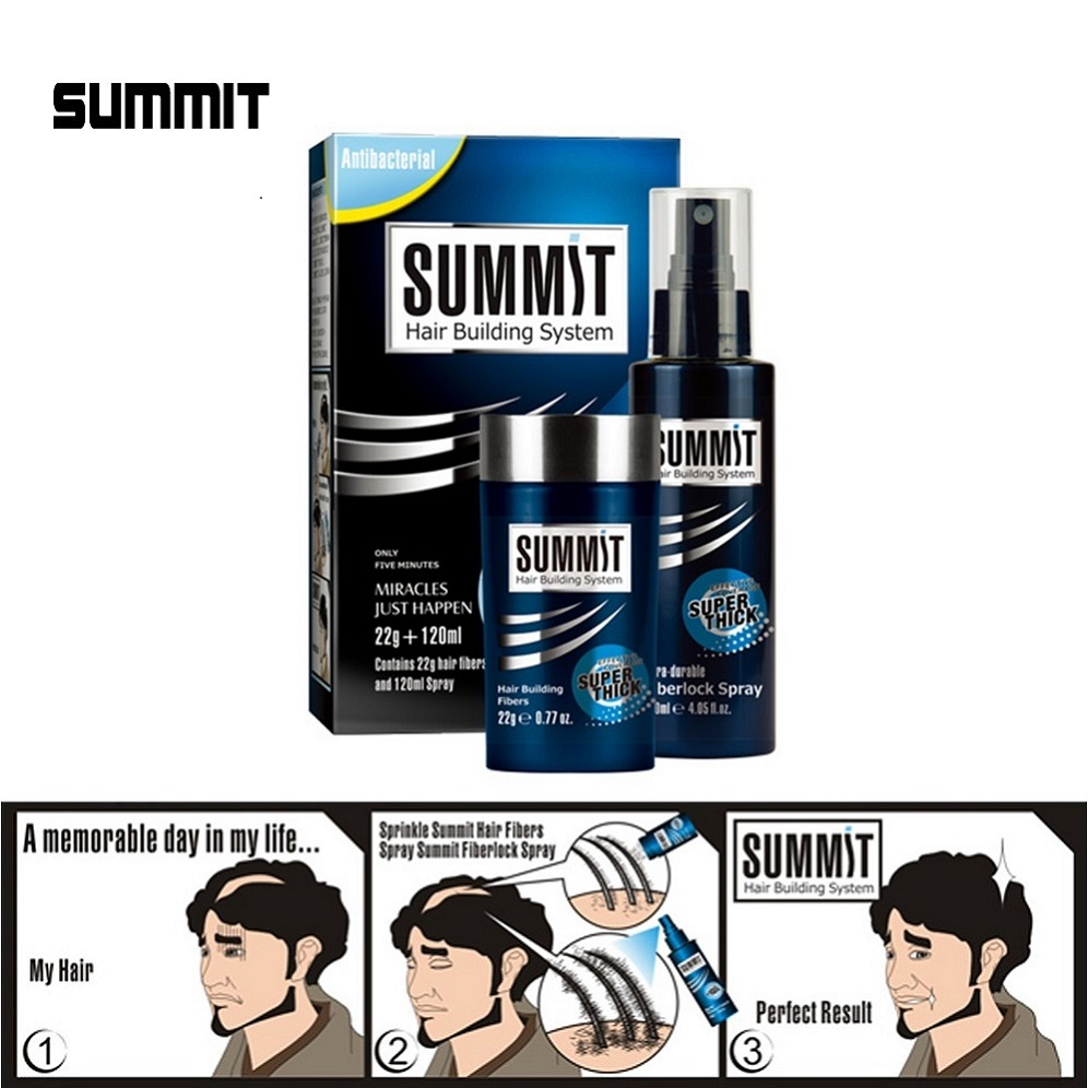 SUMMIT private label hair fibers keratin natural remedies to stop hair loss