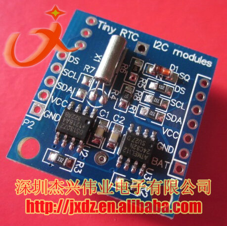 Tiny RTC I2C DS1307 Real Time Clock Module for arduino