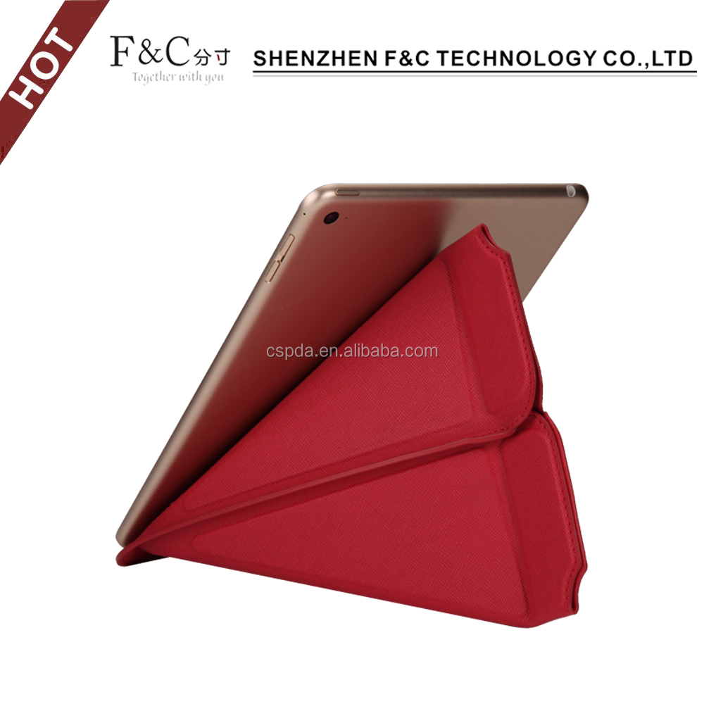Leater flip tab cover unibersal tablet leather case for ipad mini 4