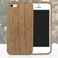 High Quality Wooden Case Cover for iPhone5/5S