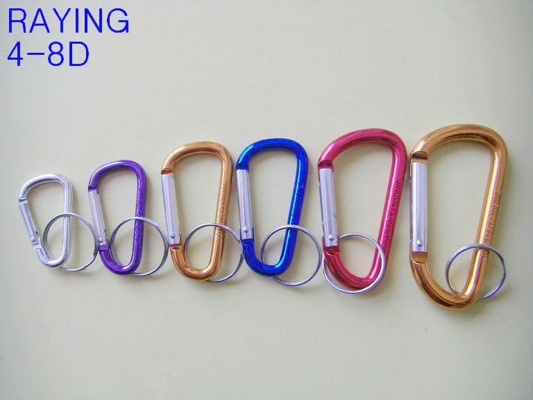 New arrivals Outdoor and camping products Aluminum carabiner/Carabiner Keychains/Climbing hook